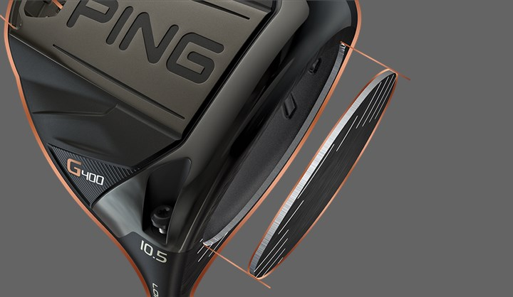 Driver PING G400 face forgée