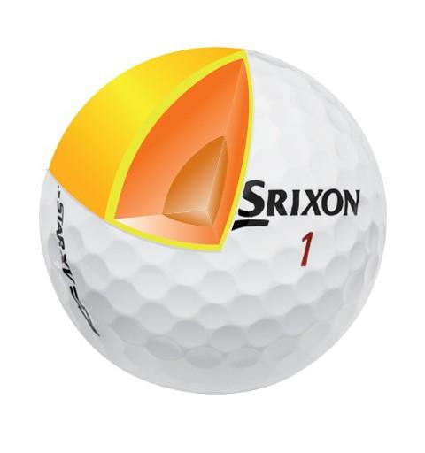 Balle Srixon Z-STAR XV Pure white