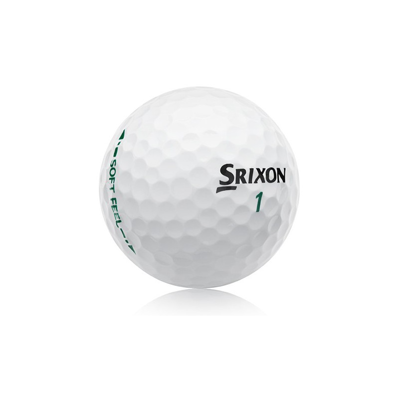 Balle Srixon SOFT FEEL Pure white