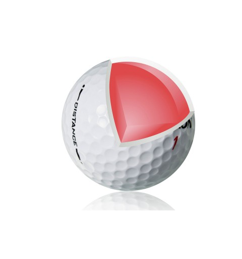 balle de golf SRIXON  Distance white