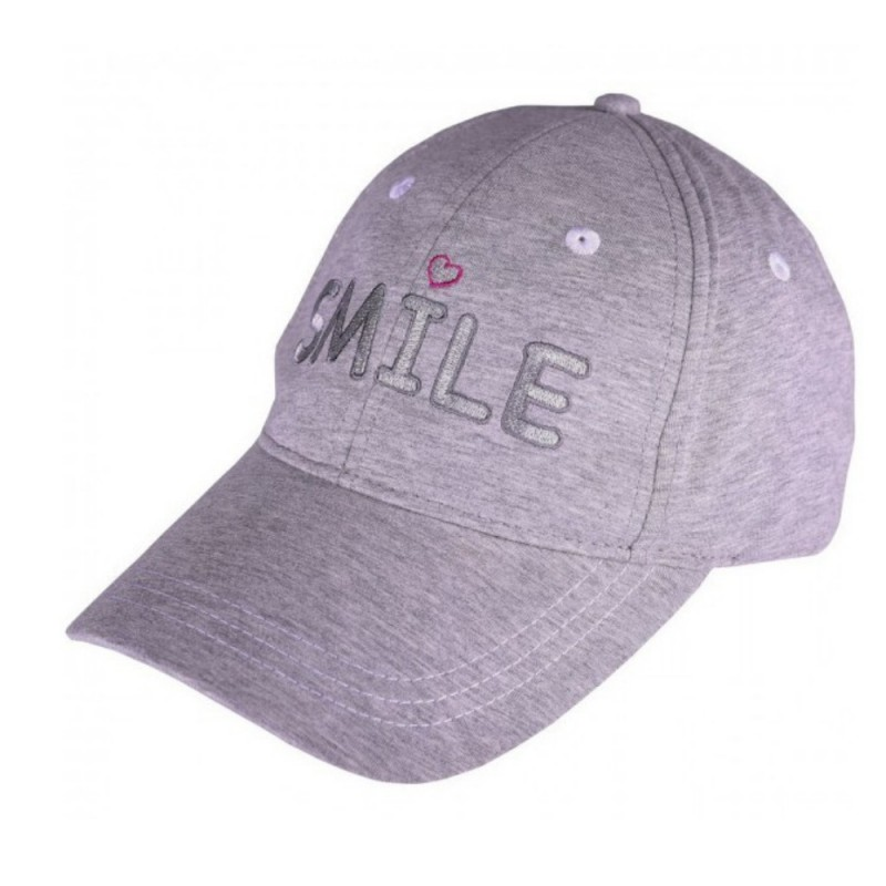 GIRLS GOLF CAP - SMILE WITH