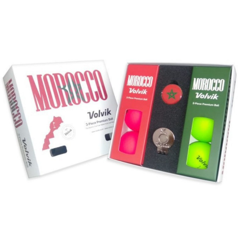 Coffret Maroc Edition VOLVIK
