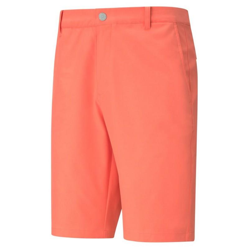 puma- jackpot short . g peach