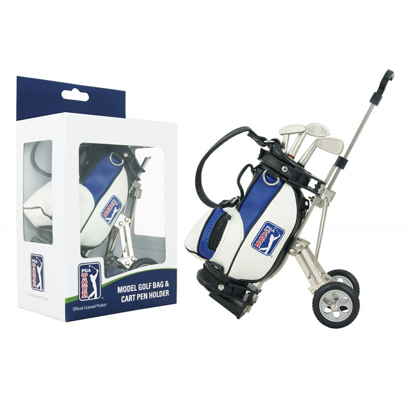 MODEL GOLF BAG & CART PEN HOLDER
