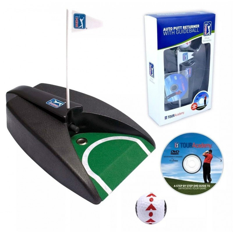 AUTO PUTT RETURNER WITH GUIDEBALL