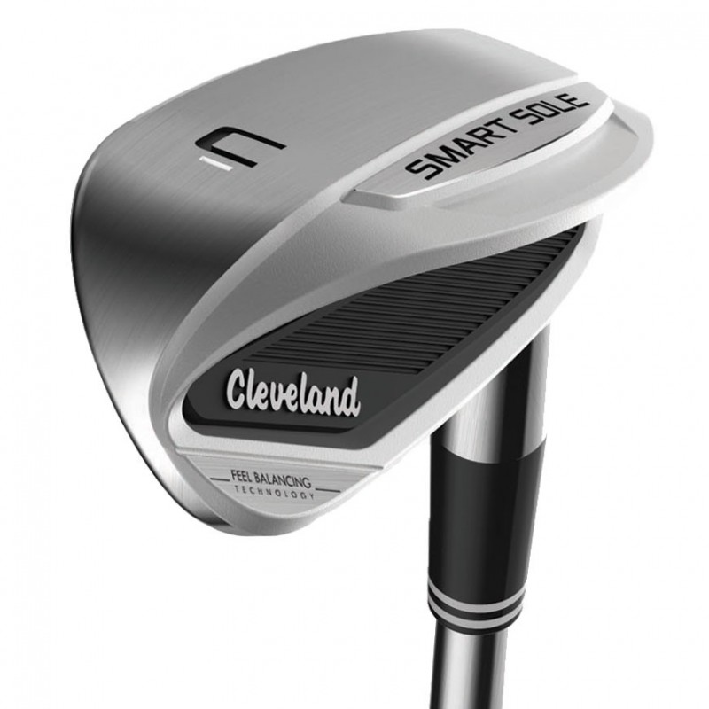 Wedge CLEVELAND SMART SOLE 3C MANCHE ACIER