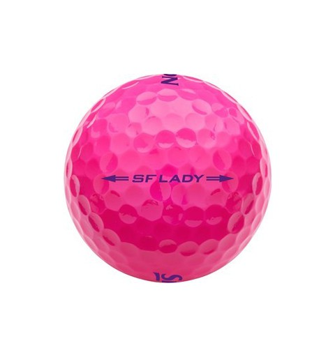 Balle SRIXON SOFT FEEL Lady Passion Pink