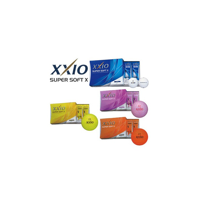 XXIO - 12 Balles de golf Super Soft X