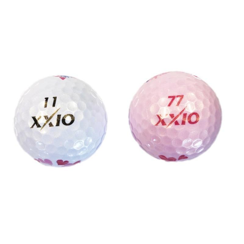XXIO - 2 Balles de golf Super Soft X Fêtes des Mères
