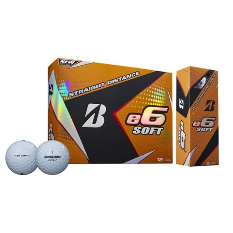 BRIDGESTONE - 12 Balles de golf E6 Soft