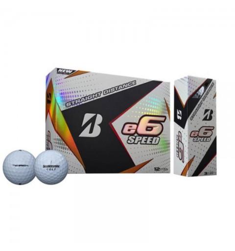 Bridgestone - 12 Balles de golf e6 Speed