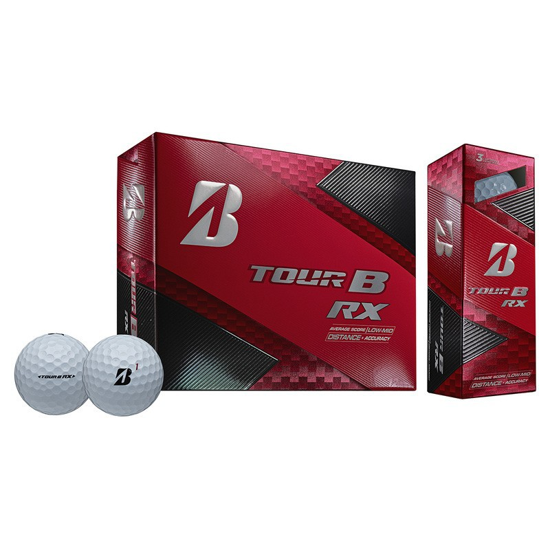 BRIDGESTONE - 12 Balles de golf Tour B RX