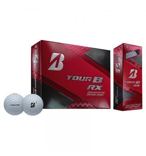 BRIDGESTONE - 12 Balles de golf Tour B RX