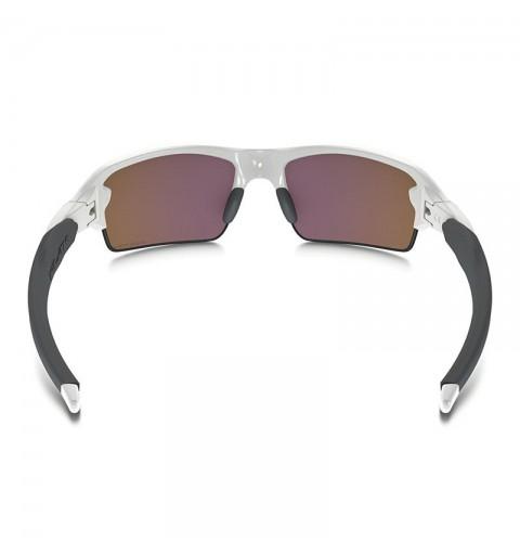 c8cfcfb5a3792a Lunettes Oakley Flak 2.0 blanc à verres Prizm Golf