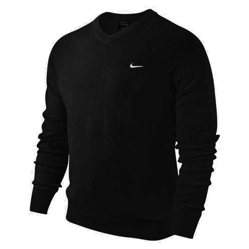 Nike V-Neck Lambswool Sweater Blue